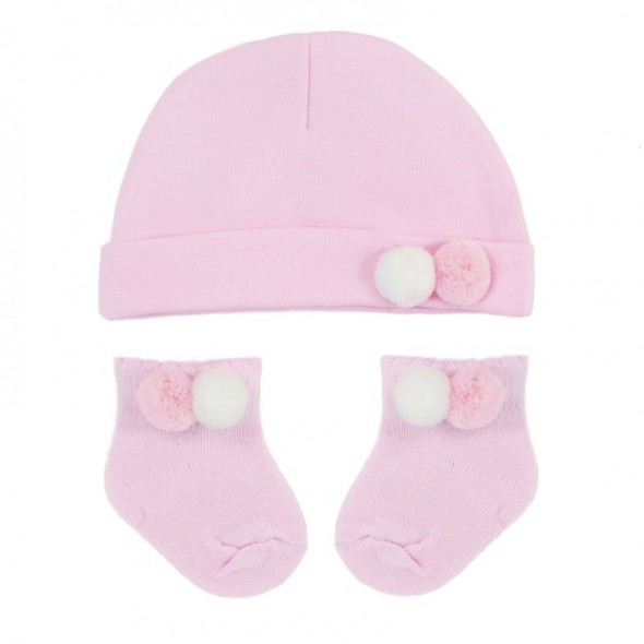 Set cadou 2 piese pentru fetite, roz
