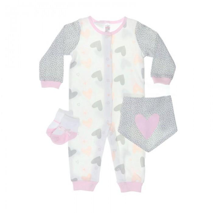 Set hainute bebelusi 3 piese fetita Soft Touch