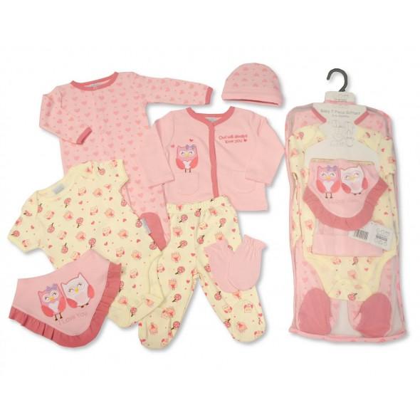 Set cadou hainute 7 piese pentru fetita
