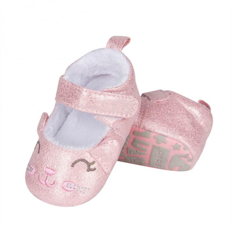 Pantofiori bebelusi - model pisicuta