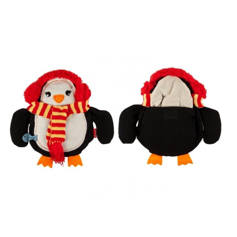 Pernuta termica pinguin cu aroma de lavanda krbaby.ro