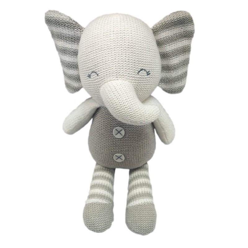 Baby Hug - Elefant crostetat 35 cm krbaby.ro