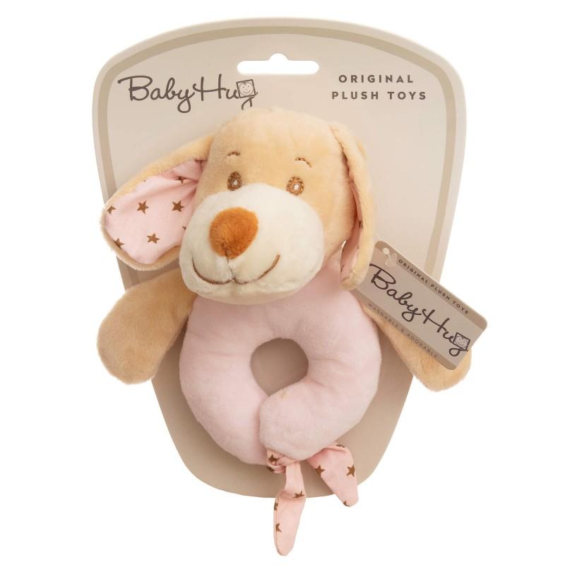 Baby Hug - Catelus roz zornaitor krbaby.ro