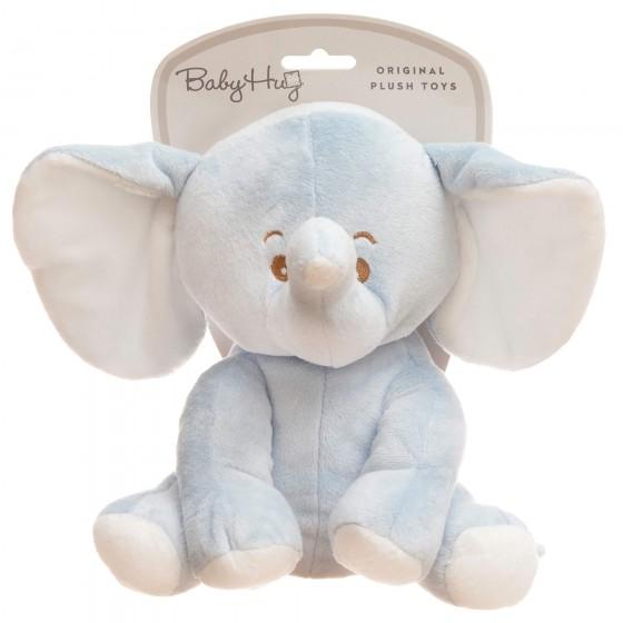 Baby Hug - Elefantel bleu din plus