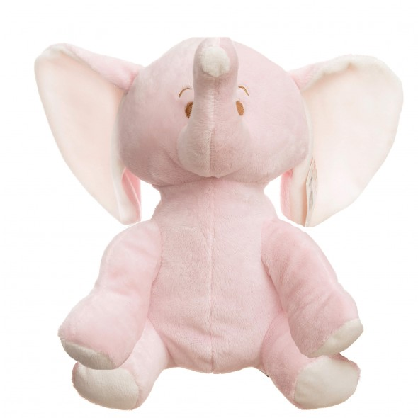 Baby Hug - Elefantel roz din plus