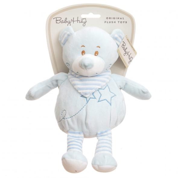 Baby Hug - Ursulet bleu moale din plus