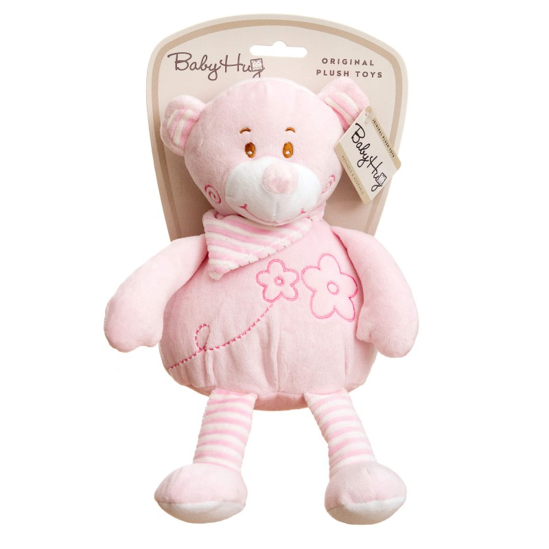 Baby Hug - Ursulet roz moale din plus krbaby.ro