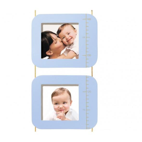Grafic de crestere cu amprenta si fotografii Baby Art