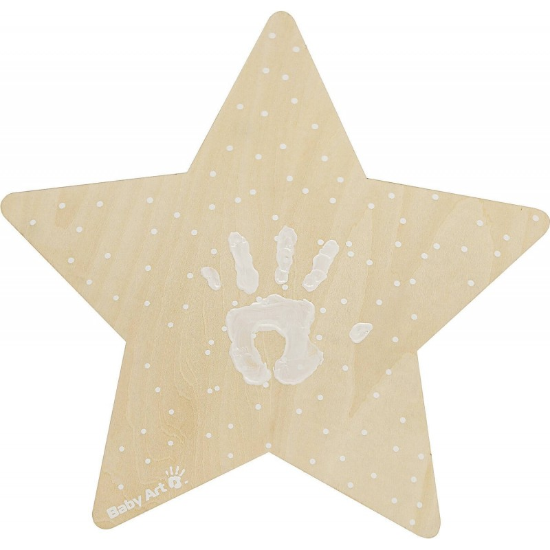 Lampa de veghe cu amprenta vopsea Baby Art krbaby.ro