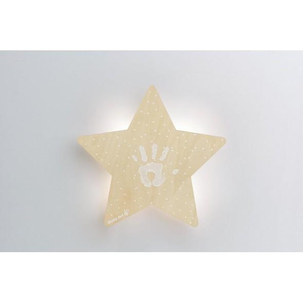 Lampa de veghe cu amprenta vopsea Baby Art