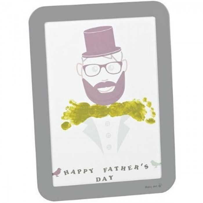 Baby Art - Happy frame father's day