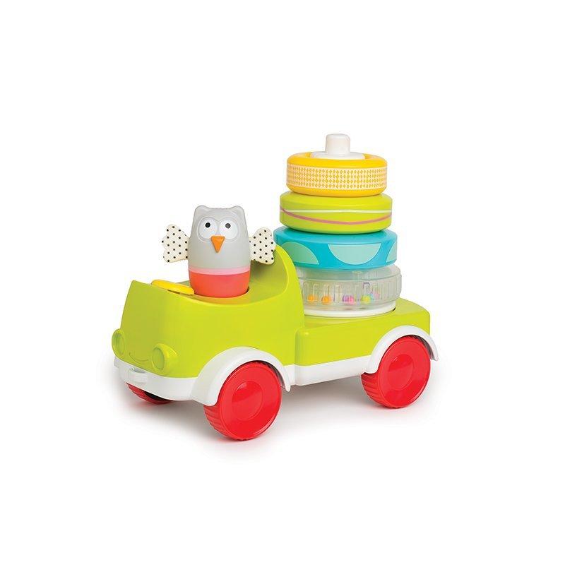 Jucarie multifunctionala - Camionul piramida Taf Toys krbaby.ro