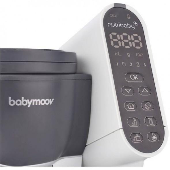 Robot multifunctional 5 in 1 Nutribaby industrial grey, Babymoov
