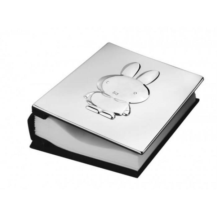 Album foto argintat Miffy