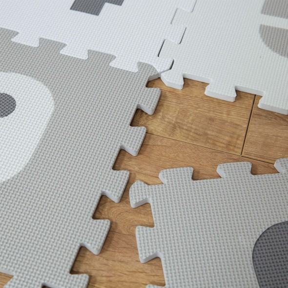 Covor puzzle cifre Bambino by Juliana