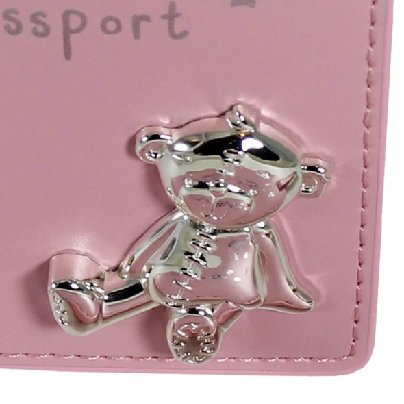 Button Corner - Set pentru prima calatorie a bebelusului My First Passport - pink krbaby.ro