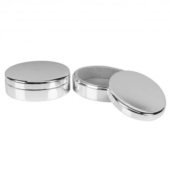 Bambino by Juliana - Set cutiute argintate pentru suvita si dintisor