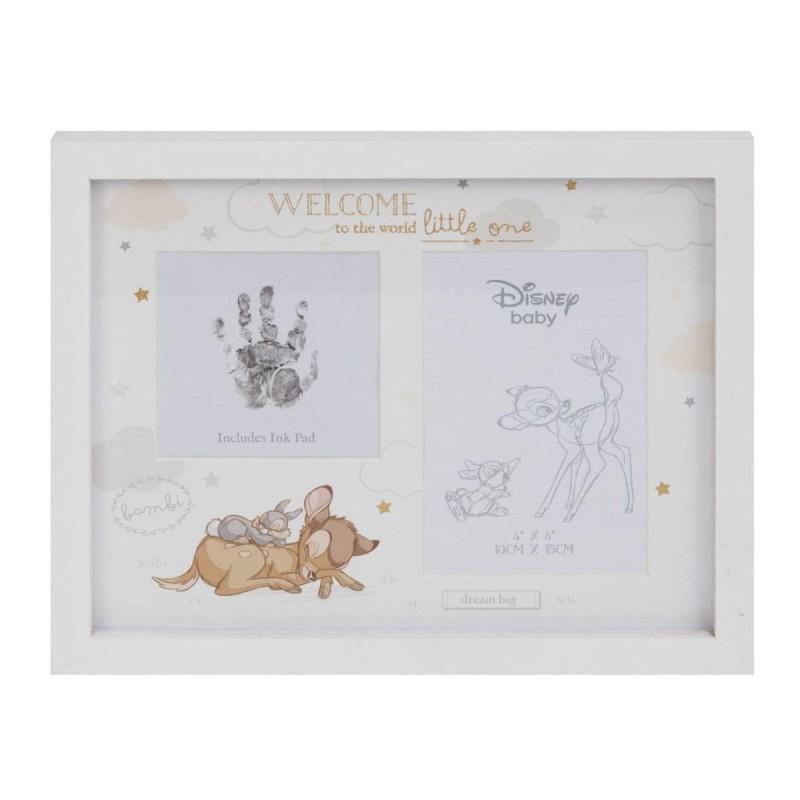 Disney Magical Beginnings - Rama foto amprenta cerneala manuta sau piciorus Bambi krbaby.ro