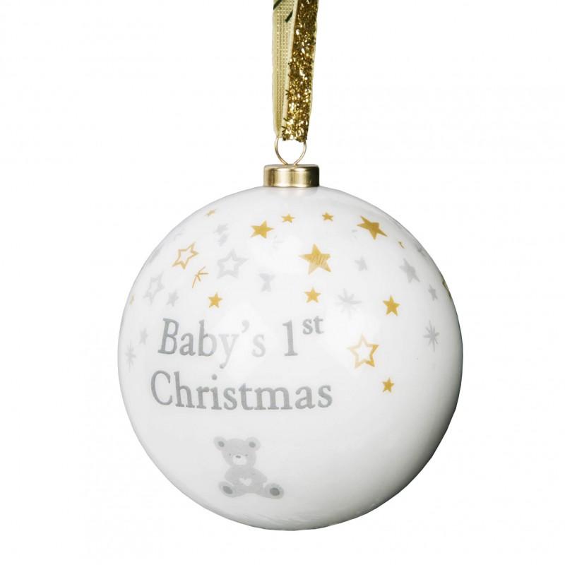 Bambino by Juliana - Glob din polifoam First Christmas krbaby.ro