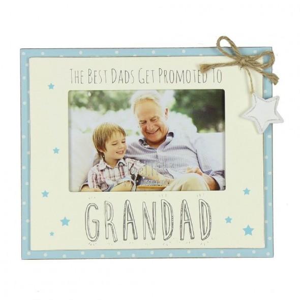 Rama foto cadou pentru bunicul Dad promoted to Grandad