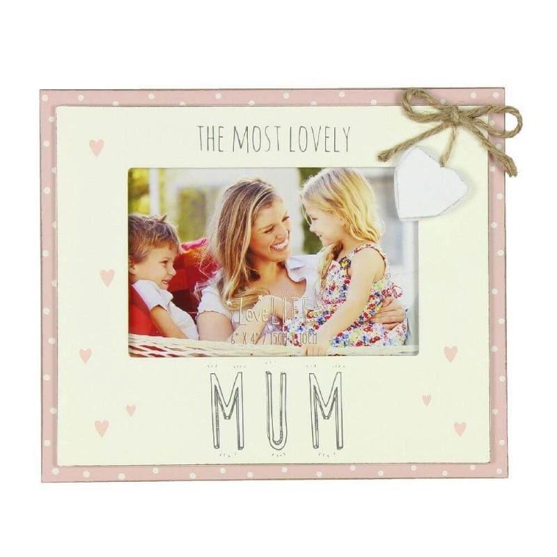 Rama foto cadou pentru mama Most Lovely Mum krbaby.ro