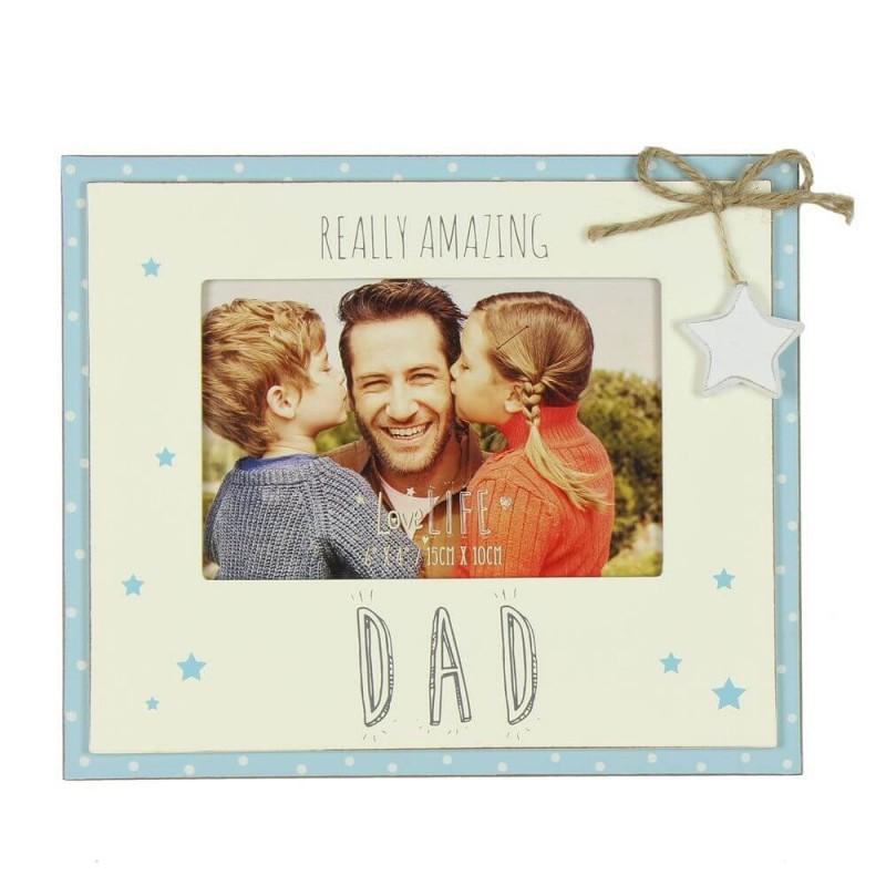 Rama foto cadou pentru tata Amazing Dad krbaby.ro
