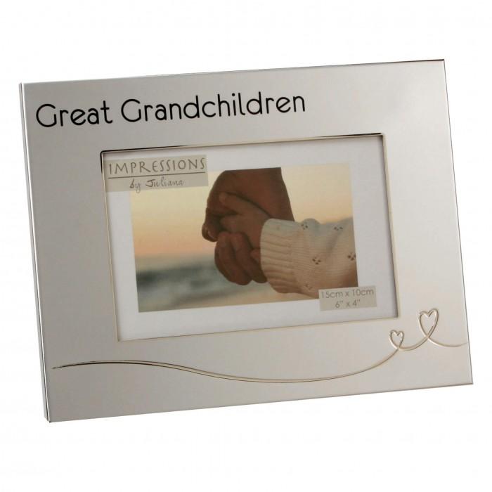 Juliana - Rama foto argintata Great Granchildren