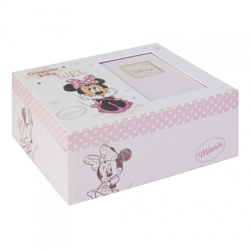 Disney Baby - Cutie amintiri cu poza Minnie Mouse krbaby.ro