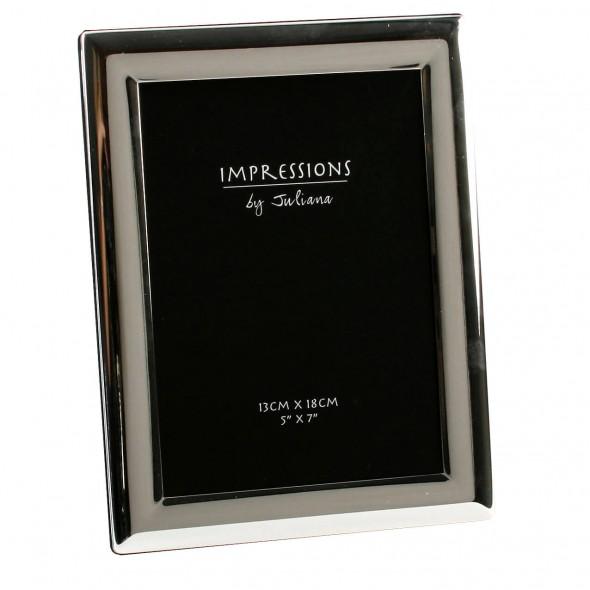 Juliana - Rama foto argintata 22 x 16.5 centimetri