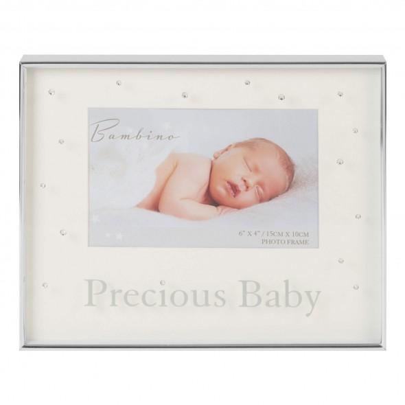 Bambino by Juliana - Rama cu margini argintate Precious Baby krbaby.ro