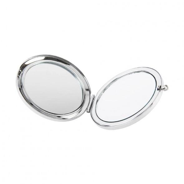 Oglinda argintata cu pietricele - model libelula