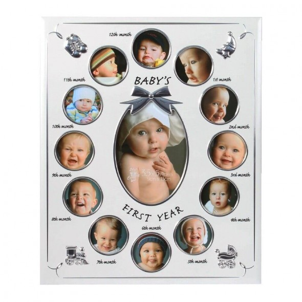 Rama foto aluminiu Baby's First Year
