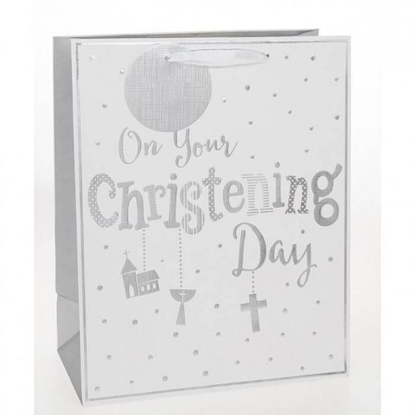 Punga de cadou mica Christening Day