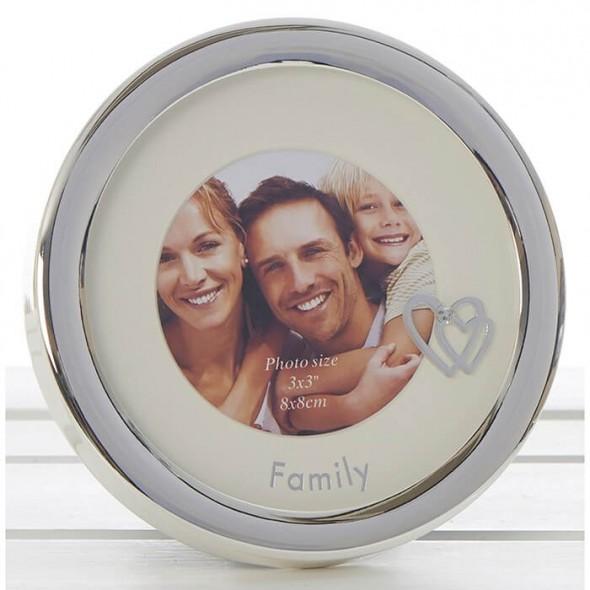 Rama foto circulara Family