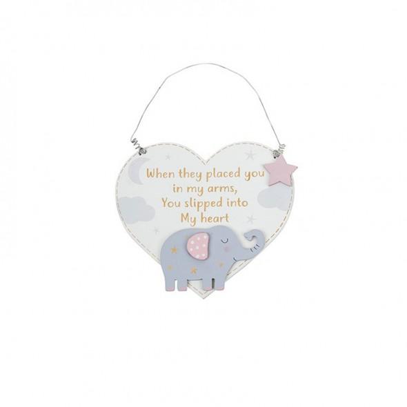 Placuta inimioara si elefantel roz