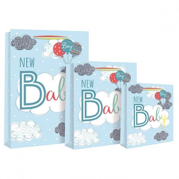 Punga medie bleu New Baby