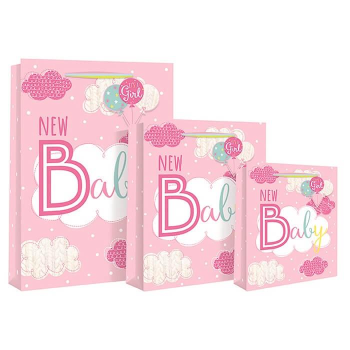 Punga mare roz New Baby