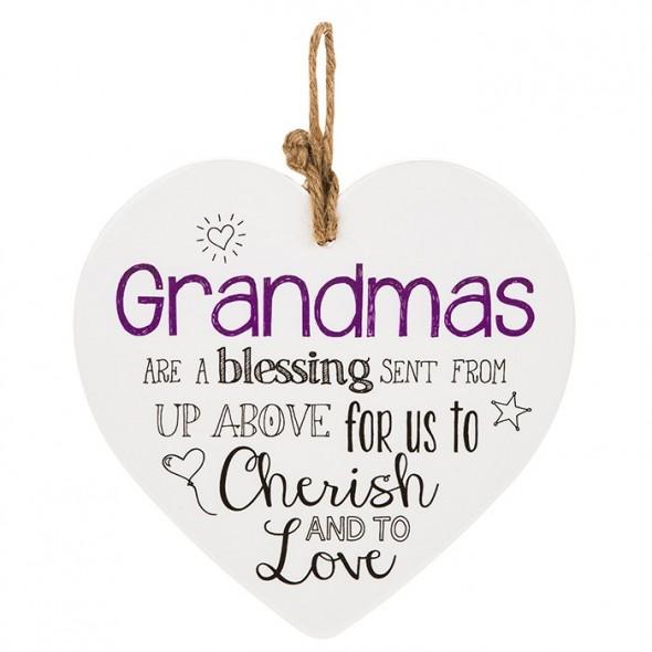 Placuta cu mesaj cadou pentru bunica