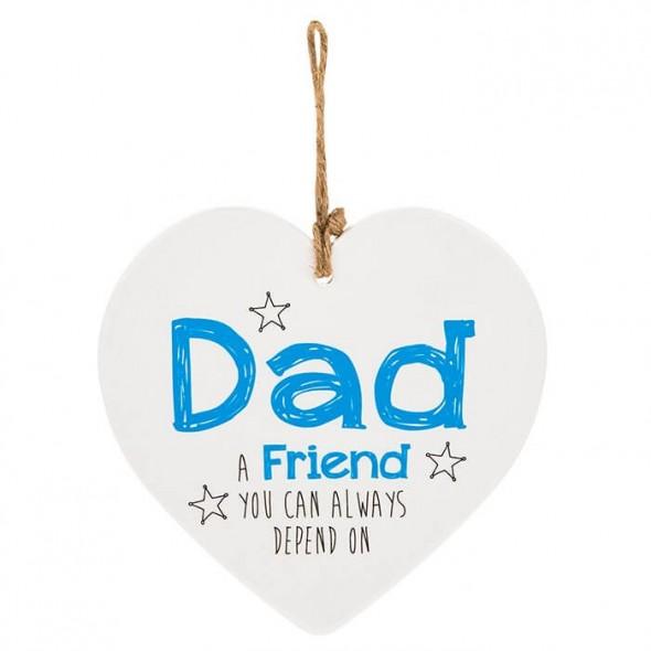 Placuta cu mesaj cadou pentru tata
