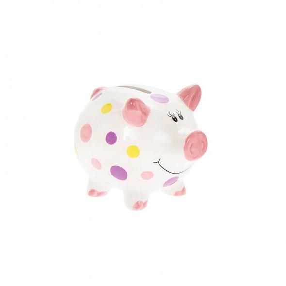 Pusculita porcusor cu buline roz