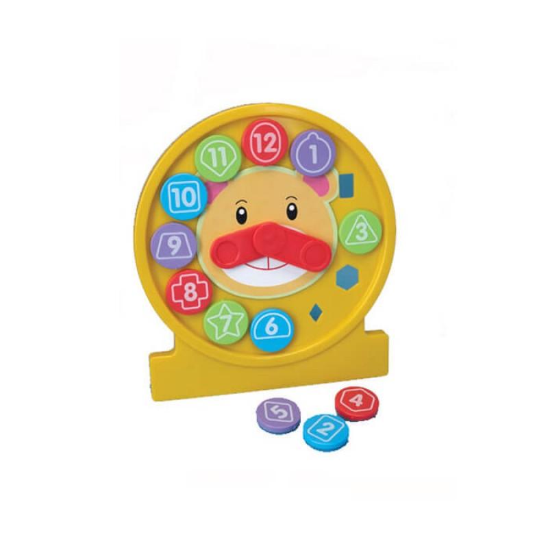 Fun Time - Ceas interactiv cu forme krbaby.ro