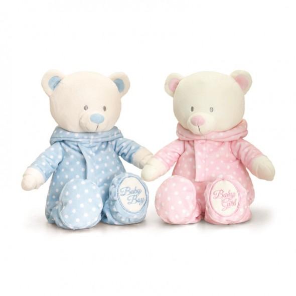Keel Toys - Ursulet din plus cu hanorac