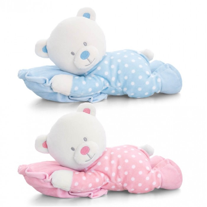 Keel Toys - Ursulet din plus cu perna