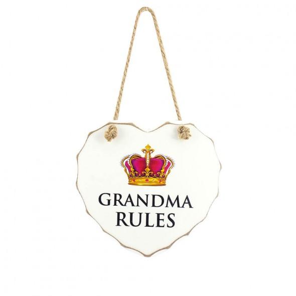 Placuta Grandma rules