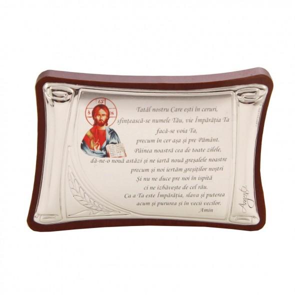 Iconita pentru botez rugaciune - Tatal Nostru