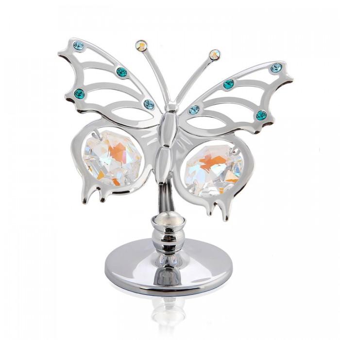 Marturie fluturas cu cristale Swarovski