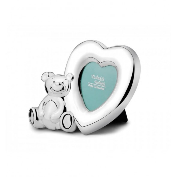 Twinkle Twinkle - Rama foto argintata Lovely Bear