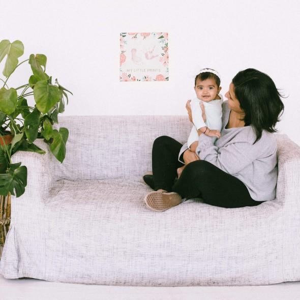Pearhead - Tablou canvas pentru amprentele bebelusului