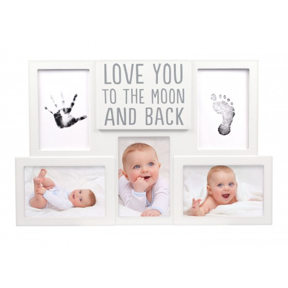 Pearhead - Kit rama foto amprente cerneala - Love you to the moon and back