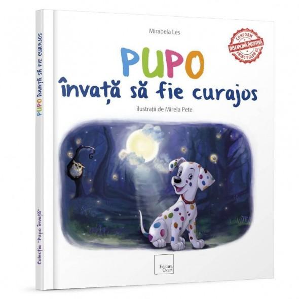 Carte de povesti Pupo invata sa fie curajos